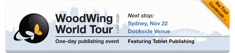 WoodWing World Tour Stop in Sydney Australia